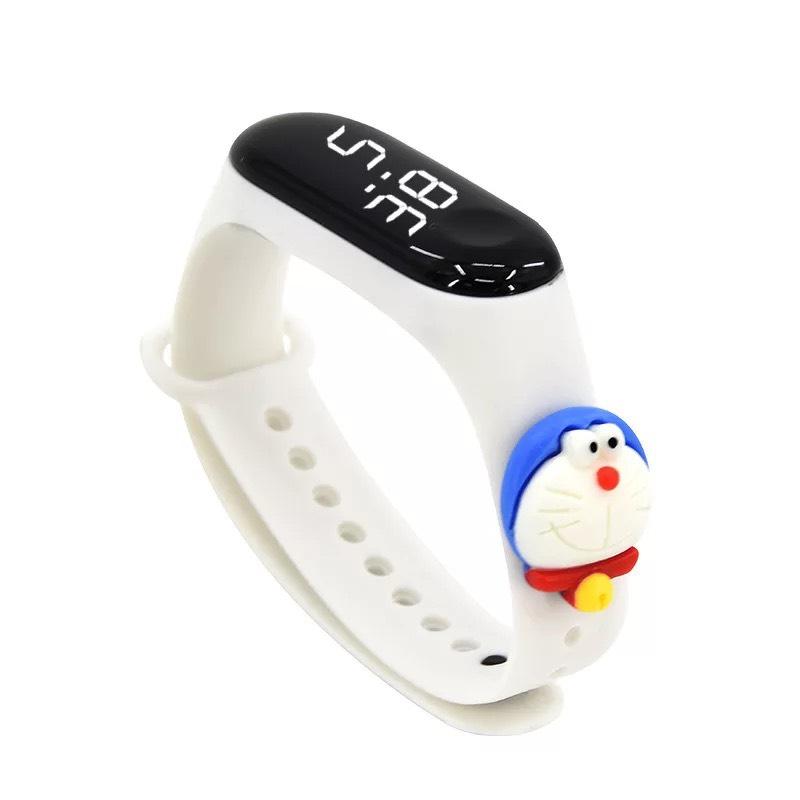 Đồng Hồ Điện Tử Trẻ Em Đèn Led Họa Tiết Hoạt Hình 3D Xinh Xắn DH109 14