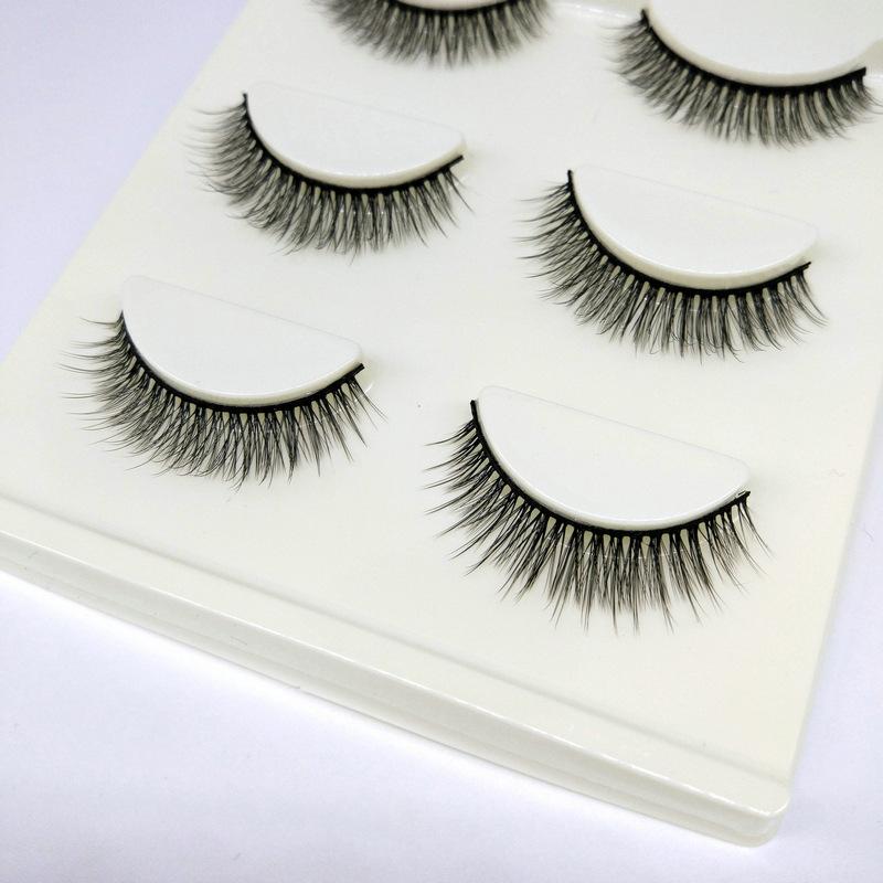 Lông mi giả lông chồn 3 Fashion Eyelashes 3 Faux-Cils 3D 1 bộ 3 cặp 43