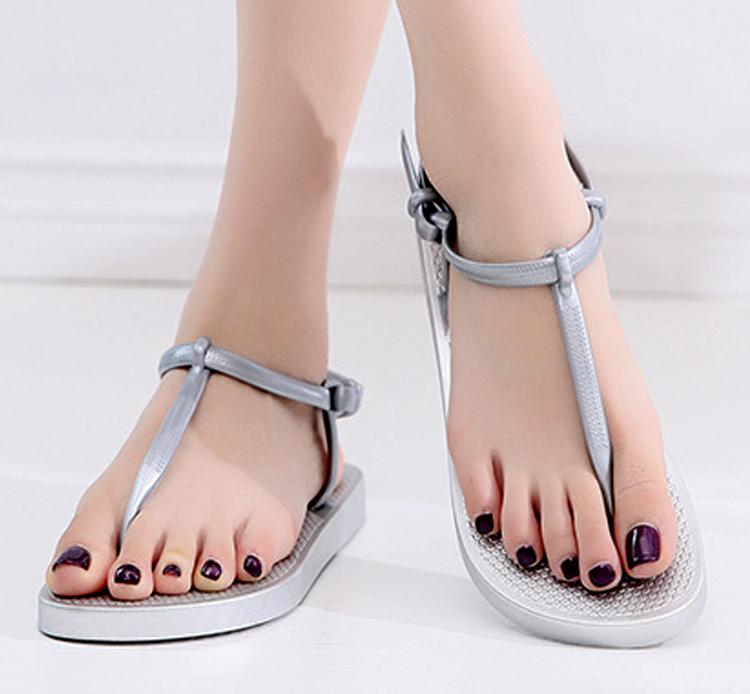 Giày sandal nữ ,thiết kế dây gài độc đáo 9600413 15