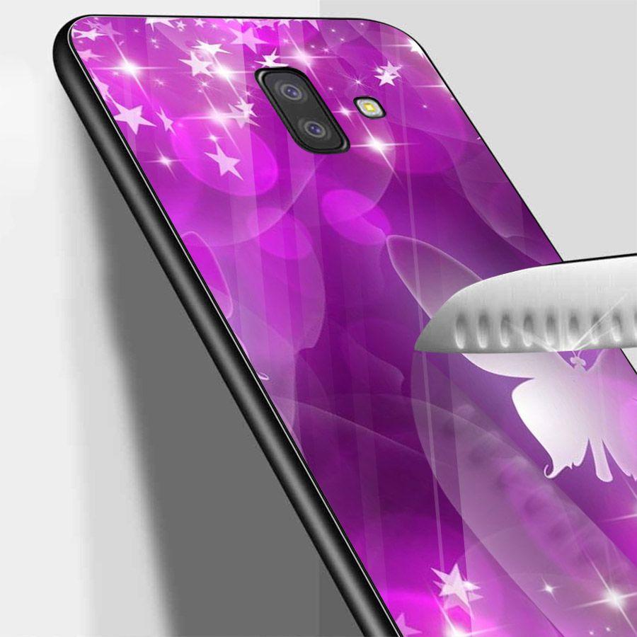 Ốp kính cường lực cho điện thoại Samsung Galaxy J4 - J6 - J6 PLUS - J6 PRIME - J8 - bướm đẹp MS ANH066