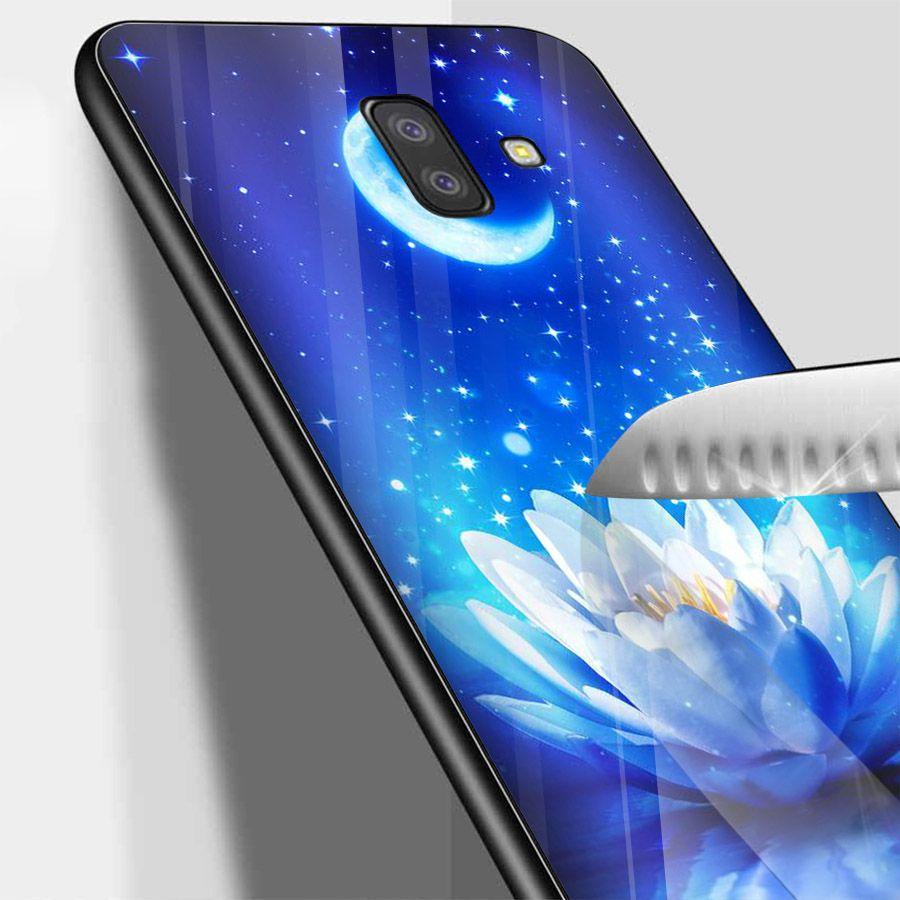 Ốp kính cường lực cho điện thoại Samsung Galaxy J4 - bướm đẹp MS BUOMD045