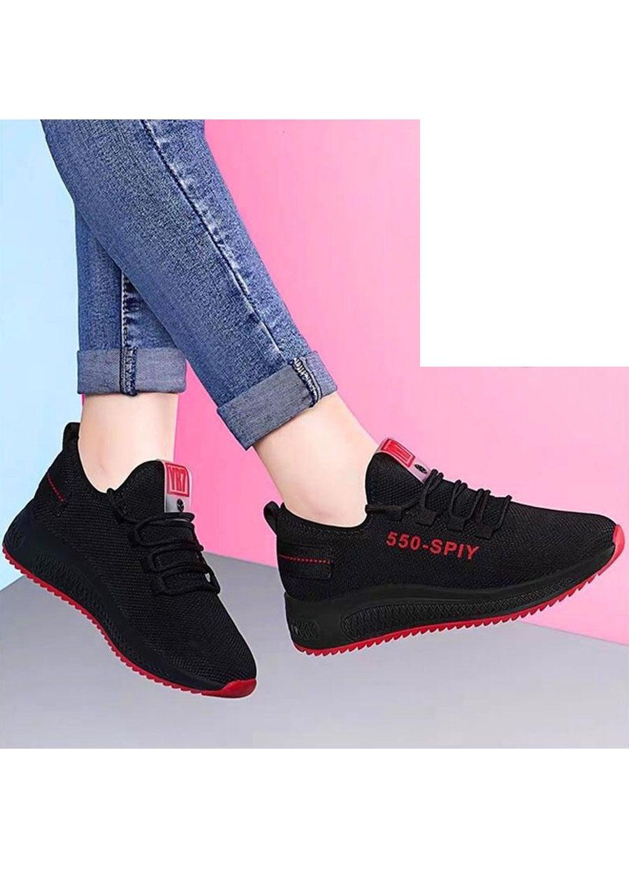 Giầy sneaker nữ phong cách thể thao buộc dây 202 4