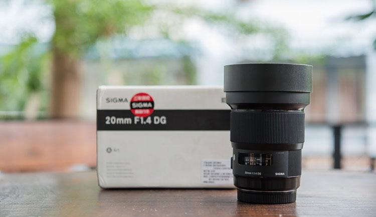 Ống Kính Sigma 20mm F1.4 DG HSM Art For Nikon - Hàng Chính Hãng