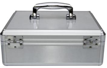 Jinlongxing (Glosen) B398 aluminum alloy supermarket cashier box / bank cash box / household cash box with a safe and durable