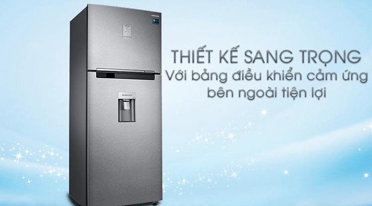 Tủ Lạnh Samsung Inverter RT43K6631SL/SV (453L)