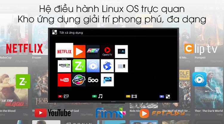 Smart Tivi Sony 43 inch Full HD KDL-43W660G