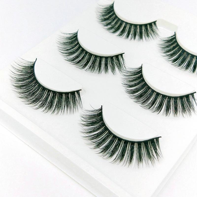 Lông mi giả lông chồn 3 Fashion Eyelashes 3 Faux-Cils 3D 1 bộ 3 cặp 39