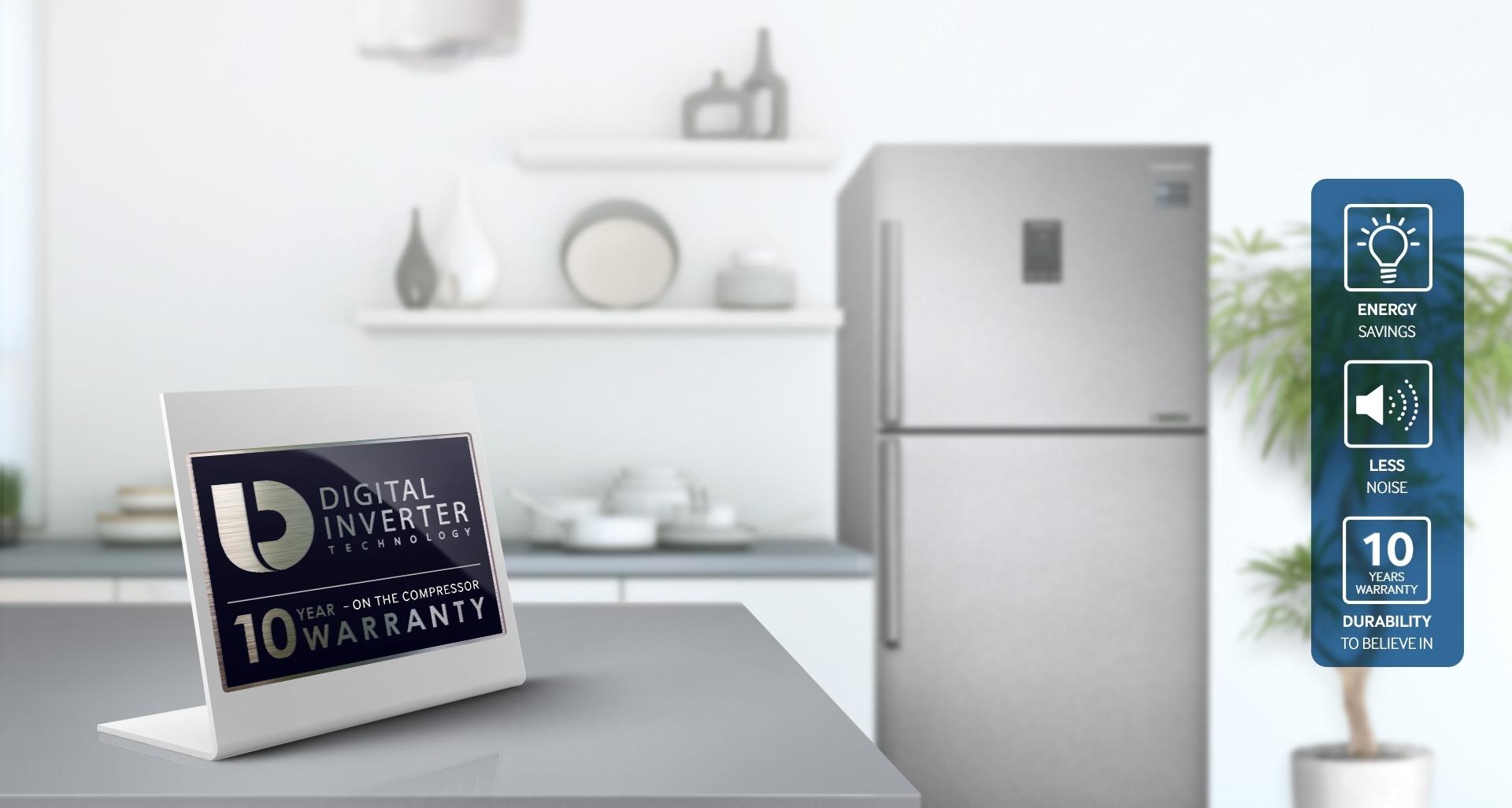 Tủ Lạnh Inverter Samsung RT29K5532S8/SV (299L)