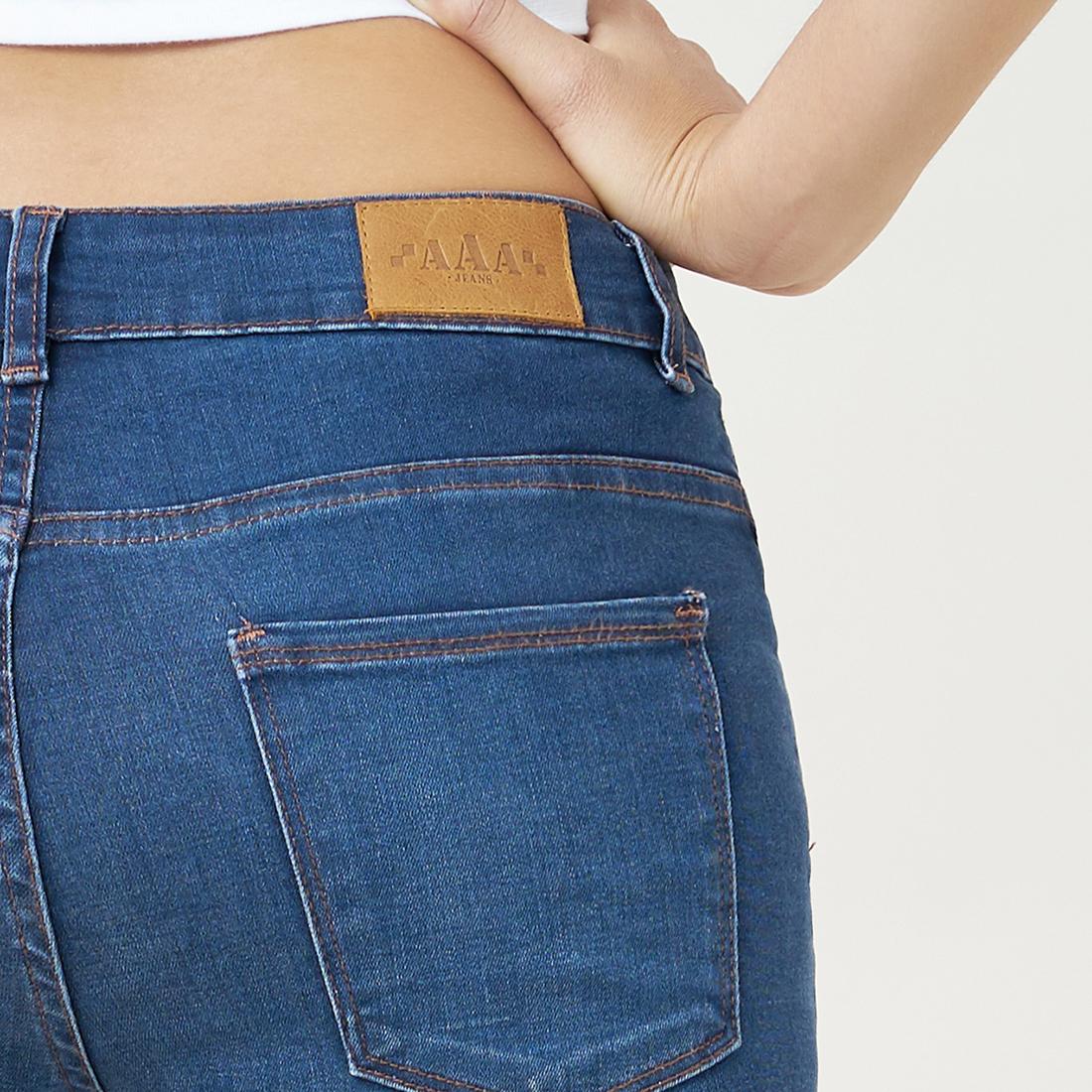Quần Jean Nữ Skinny Lưng Vừa Aaa Jeans Có Nhiều Màu Size 26 - 32 4