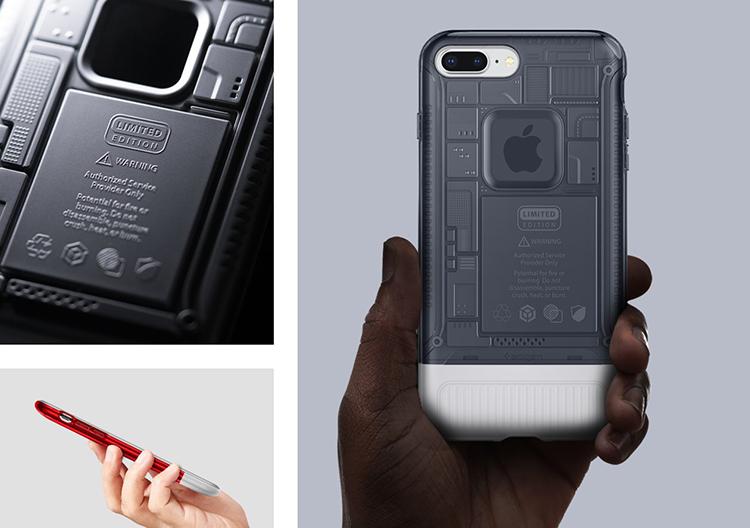 Ốp Lưng iPhone 7/8 Plus Spigen Classic C1 Case - Hàng Chính Hãng
