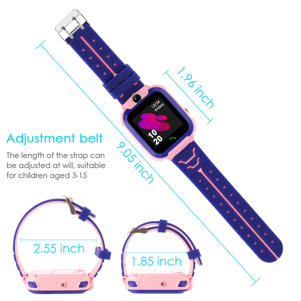 Kid Wristwatch Baby Smart Watch Waterproof GSM Phone SOS Alerts
