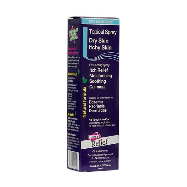 Xịt dưỡng da Hope's Relief cho da eczema, vẩy nến, viêm da 90ml