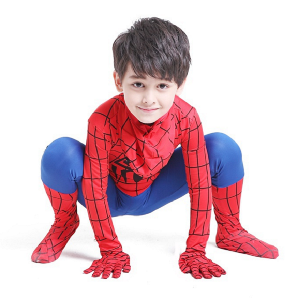 bộ jumsuit người nhện liền