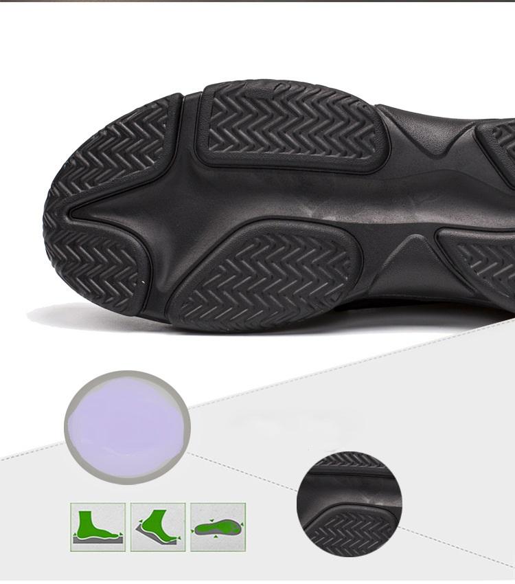 Giày Sneaker Nam Thể Thao Đế Cao Phong Cách trẻ trung 3