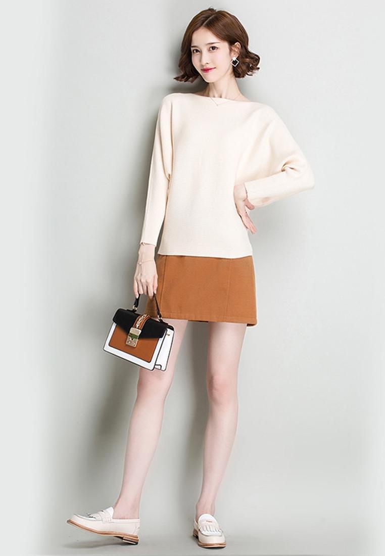 Áo len nữ cánh dơi thời trang Hàn Quốc 2