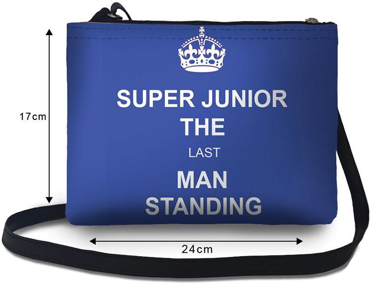 Túi Đeo Chéo Nữ In Hình Super Junior The Last Man Stading -TUKL066