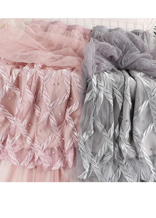 Chân váy ren Tutu ren thừng sang trọng hàng cao cấp VAY20 Free size 4
