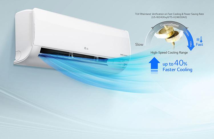 Điều hòa LG B10END, 2 chiều, 1.0HP, Inverter - Hàng Chính Hãng