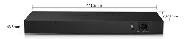 TotoLink SG24D - Switch 24 Cổng Tốc Độ Gigabit - Hàng Chính Hãng