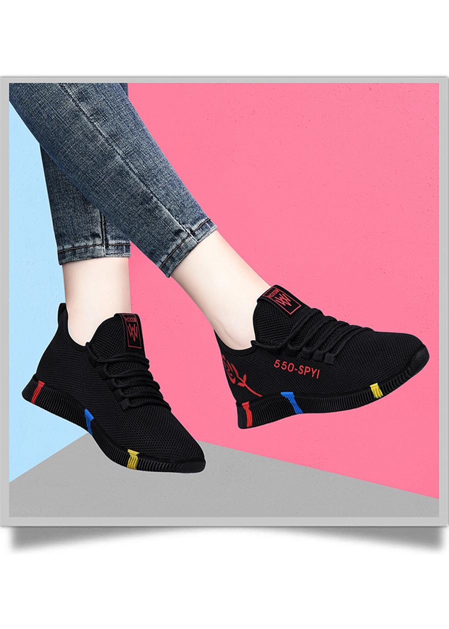 Giày sneaker nữ thời trang mới nhất buộc dây siêu nhẹ V245 8