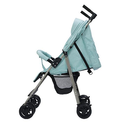Xe đẩy trẻ em đa năng gọn nhẹ Thời trang cho bé Màu xanh mint 13