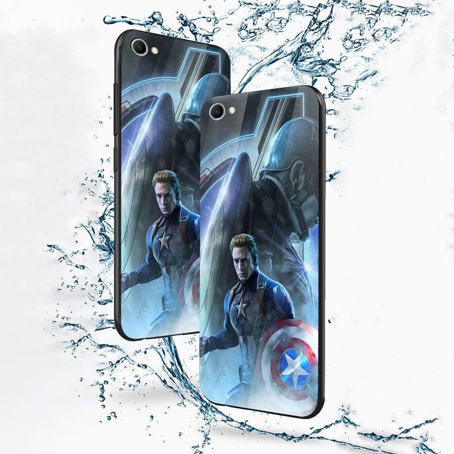 Ốp kính cường lực dành cho điện thoại Oppo F1S/A59 - A71 - A83/A1 - F3/A77 - avengers siêu anh hùng marvel - sah021