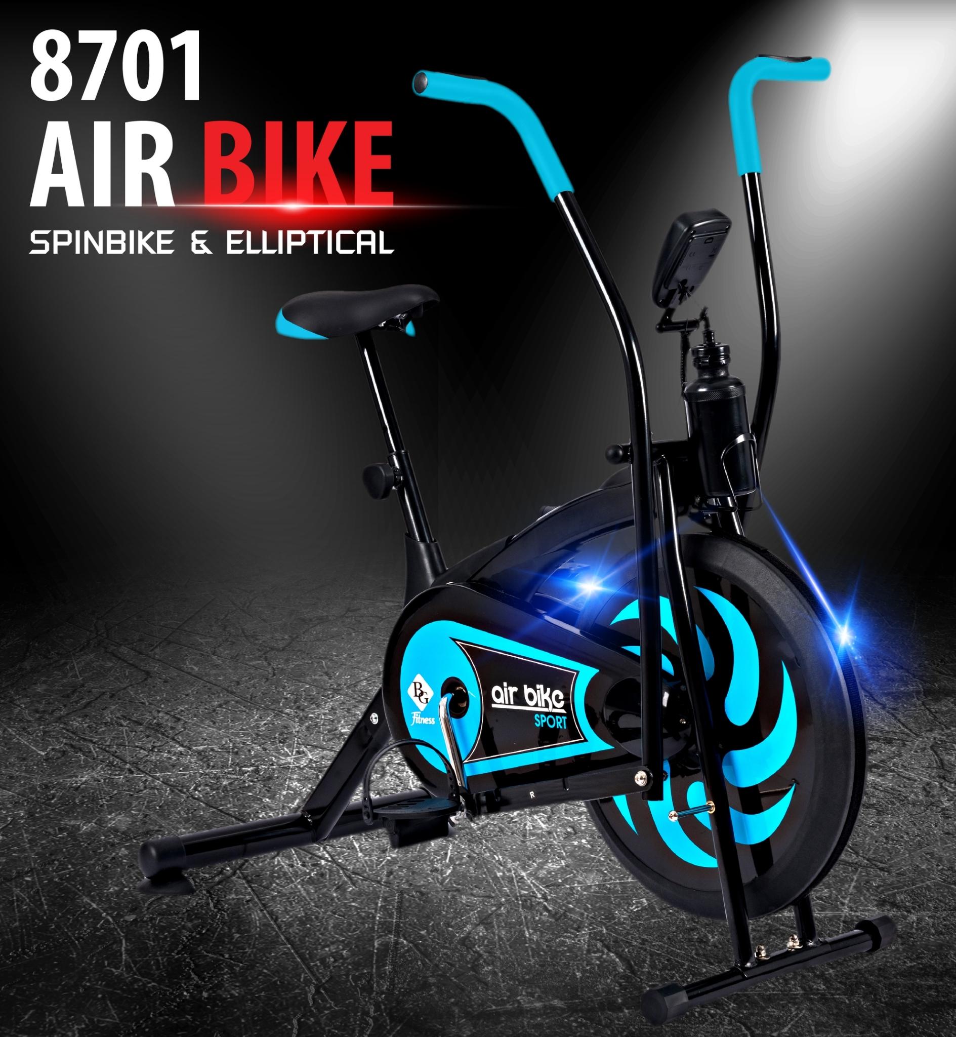 Xe đạp tập thể dục air bike BG Thiết kế mới