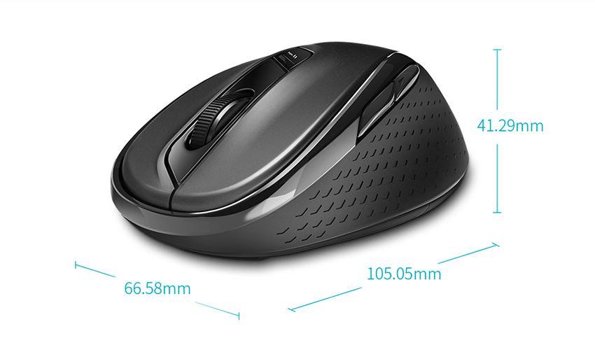 Chuột Bluetooth Không Dây Rapoo M500