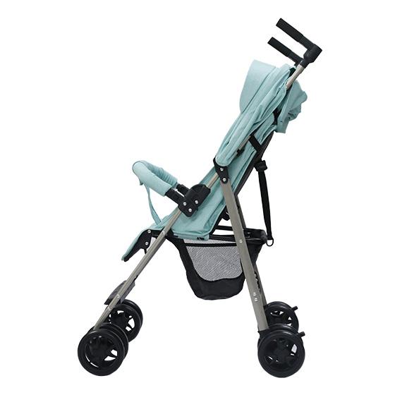 Xe đẩy trẻ em đa năng gọn nhẹ Thời trang cho bé Màu xanh mint 3
