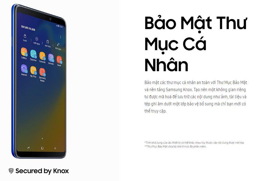 Điện Thoại Samsung Galaxy A9 (2018) - Hàng Chính Hãng
