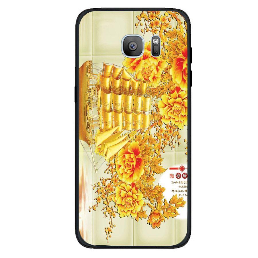Ốp điện thoại dành cho máy Samsung Galaxy S6 Edge - thuận buồm xuôi gió MS 2TBXG014