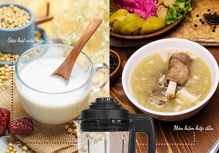 Máy Làm Sữa Hạt Đa Năng Magic A-96 (800W - 1.75 Lít) - Hàng Chính Hãng