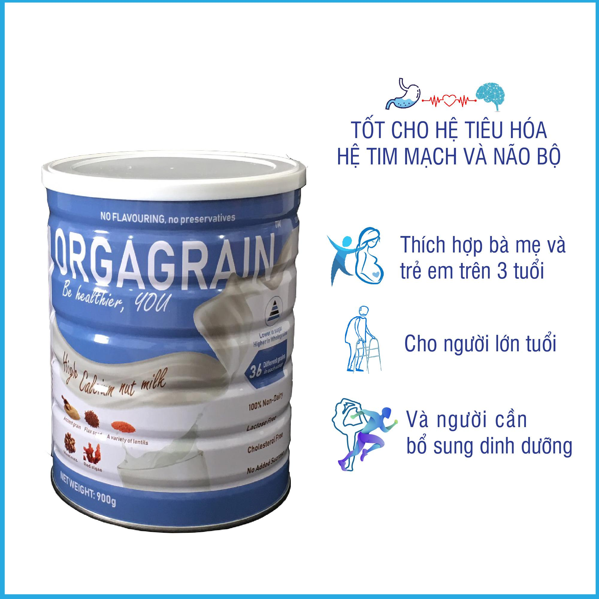 Sữa hạt Orgagrain