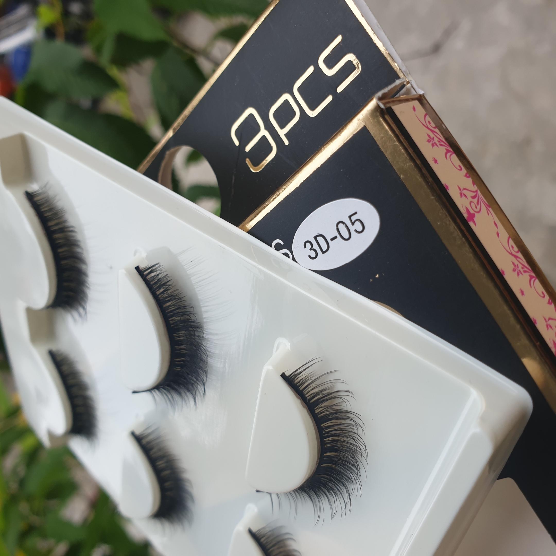 Lông mi giả lông chồn 3 Fashion Eyelashes 3 Faux-Cils 3D 1 bộ 3 cặp 21