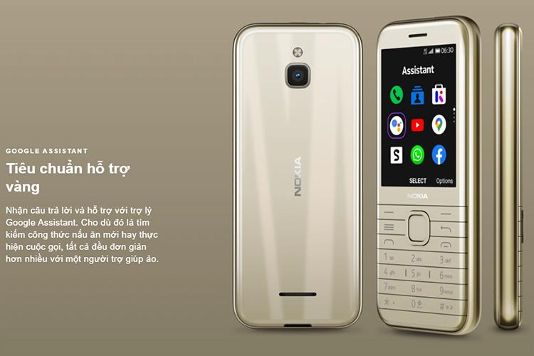 Điện thoại Nokia 8000 4G - Hàng chính hãng