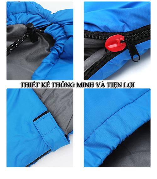 Túi ngủ đơn siêu mềm mịn cho dân văn phòng 6