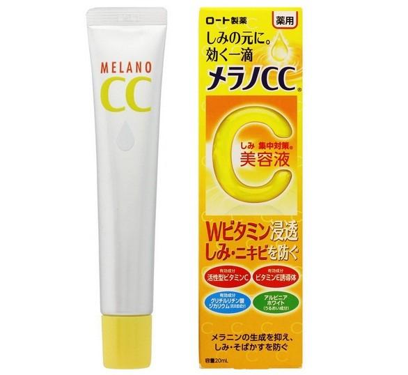 Tinh Chất Dưỡng Trắng Da Chống Thâm Nám Melano CC Whitening Essence (20ml)