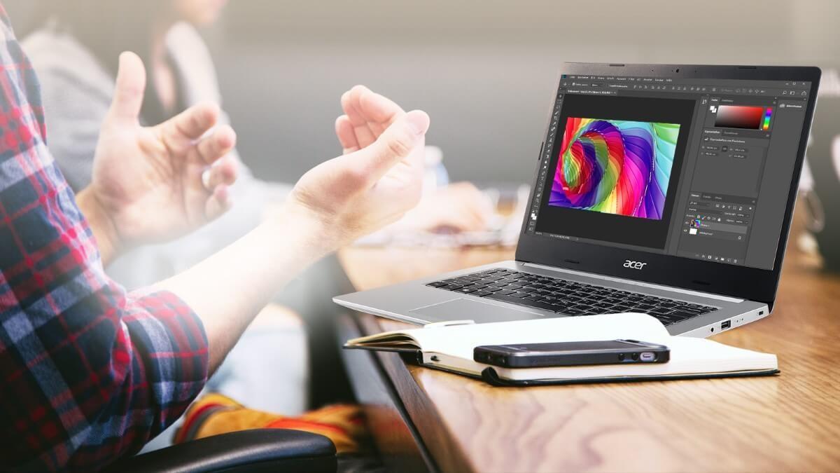 Laptop Acer Aspire 5 A515-55-55JA NX.HSMSV.003 (Core i5-1035G1/ 4GB/ 512GB SSD/ 15.6 FHD/ Win10) - Hàng Chính Hãng