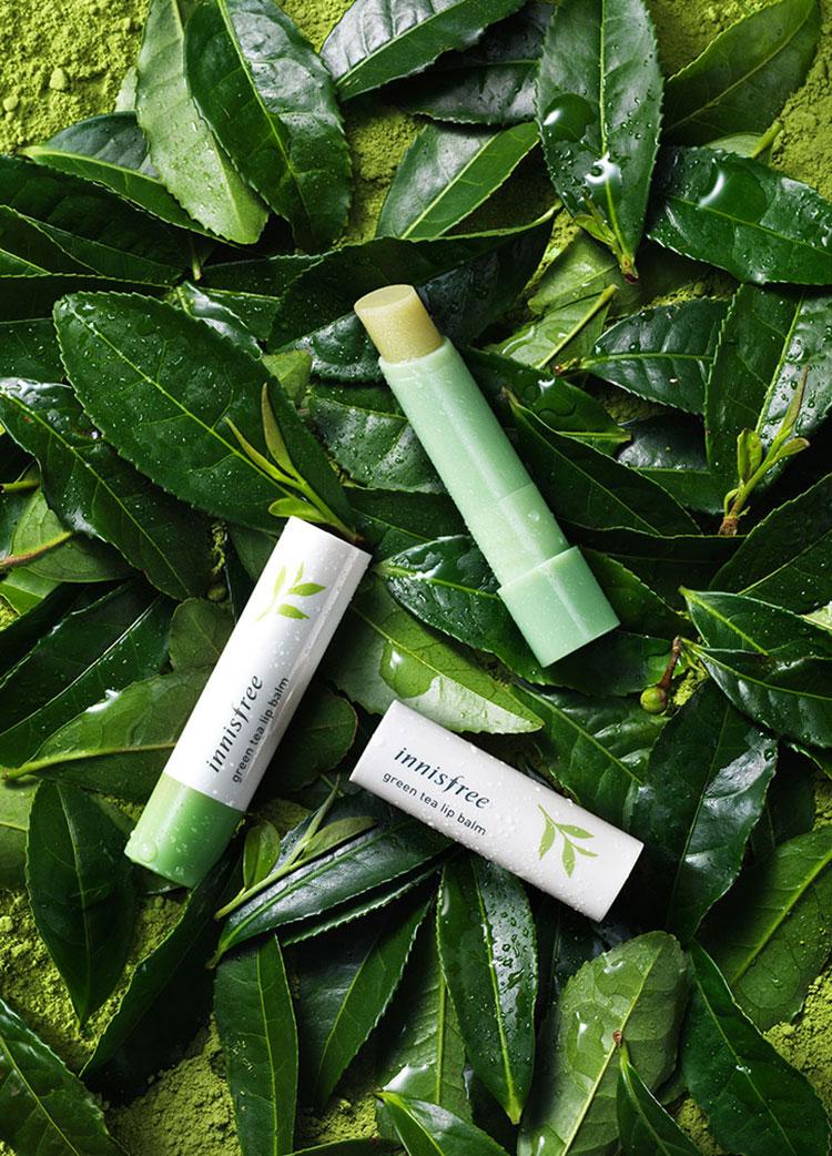 Son Dưỡng Môi Hương Trà Xanh Innisfree Green Tea Lip Balm 3.6g - 131171855