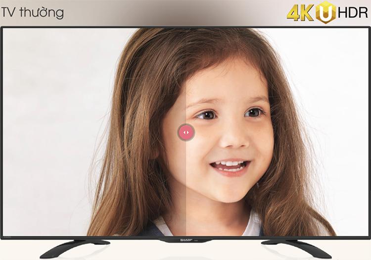 Smart Tivi Sharp 60 inch 4K UHD LC-60UA6500X