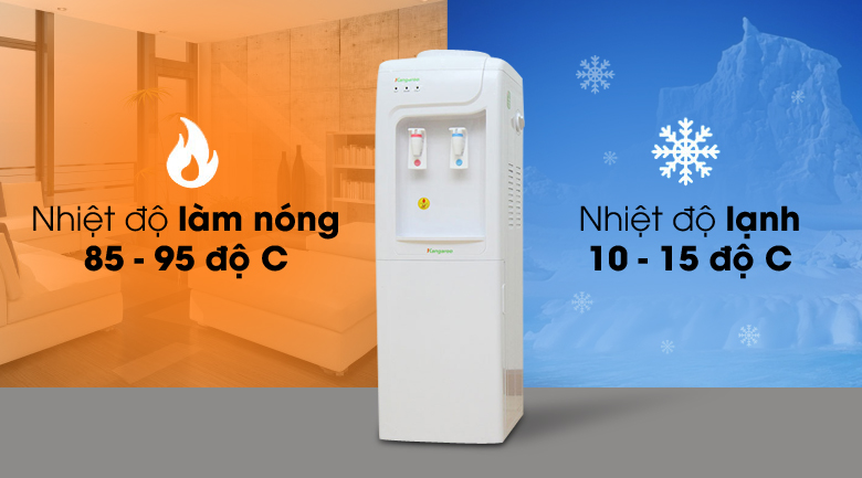 Cây Nước Nóng Lạnh Kangaroo KG3331- Hàng Chính Hãng