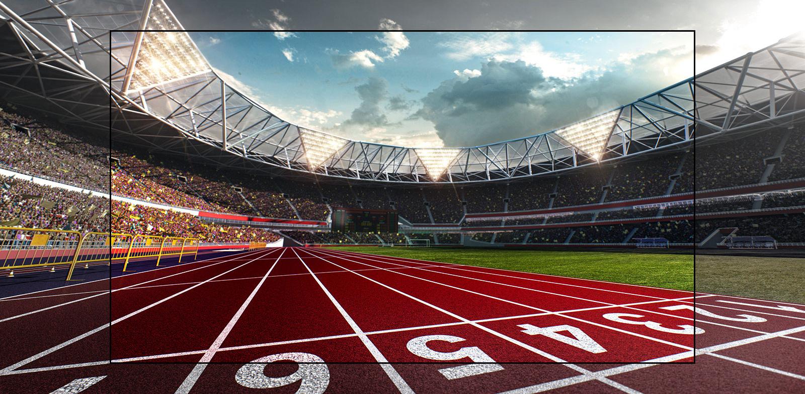 Trải nghiệm thể thao hoành tráng - Cảm nhận không gian như đang ở sân vận động