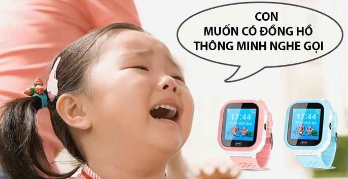 đồng hồ điện thoại cho bé