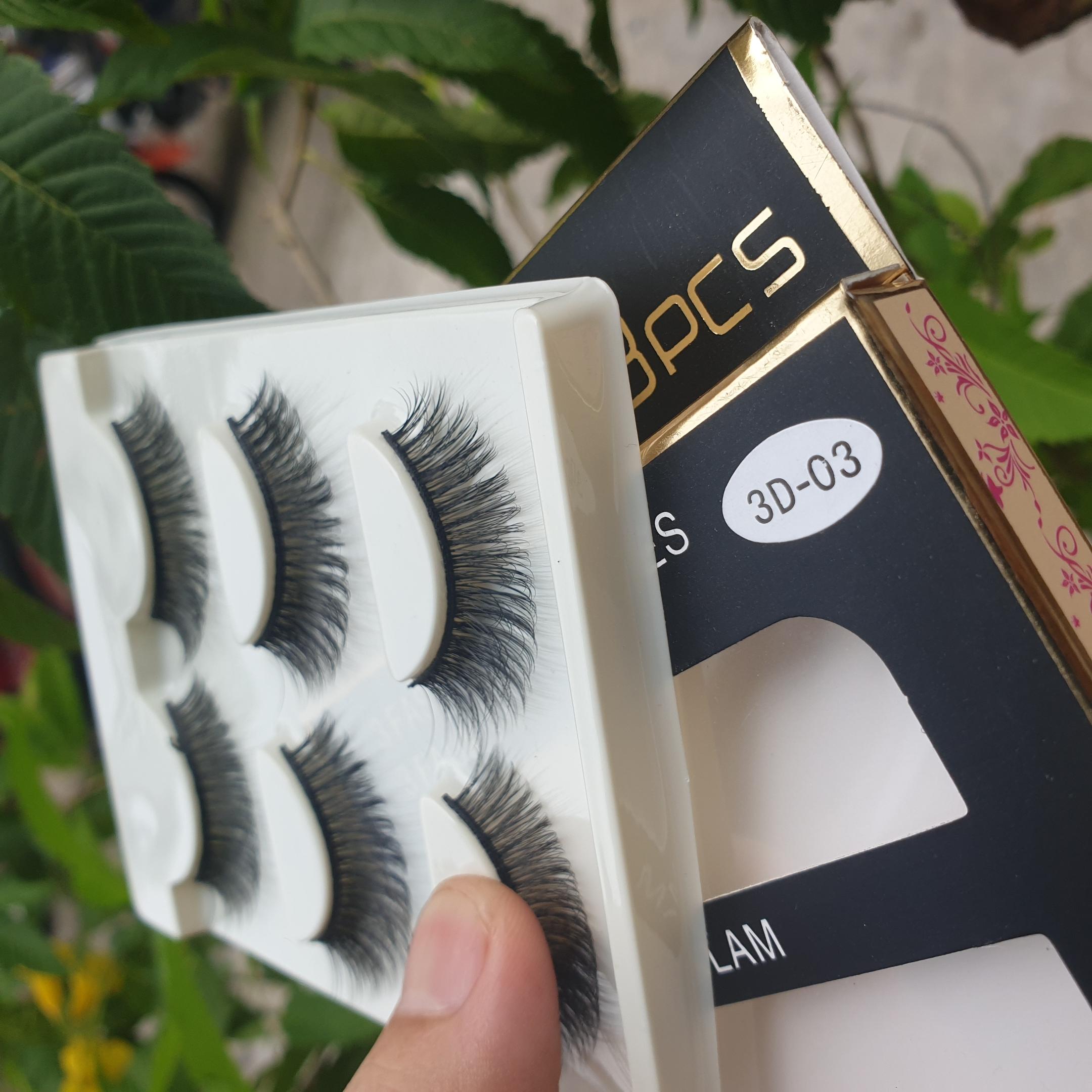 Lông mi giả lông chồn 3 Fashion Eyelashes 3 Faux-Cils 3D 1 bộ 3 cặp 14