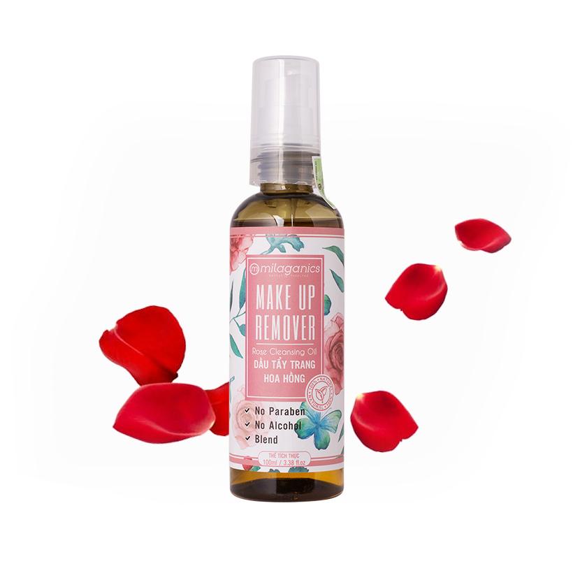 Dầu Tẩy trang Hoa hồng MILAGANICS 100ml | Tiki.vn
