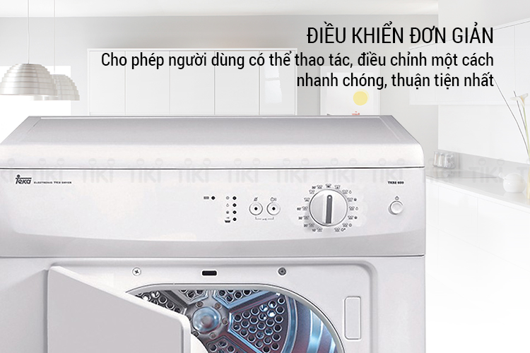 Máy Sấy Cửa Trước Teka TKS2-650C (7kg)