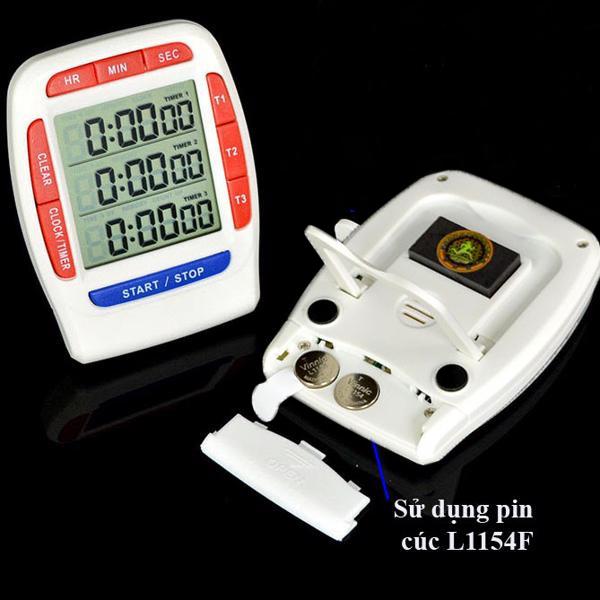 Đồng hồ đếm ngược đa năng cao cấp ( Kèm pin ) 6