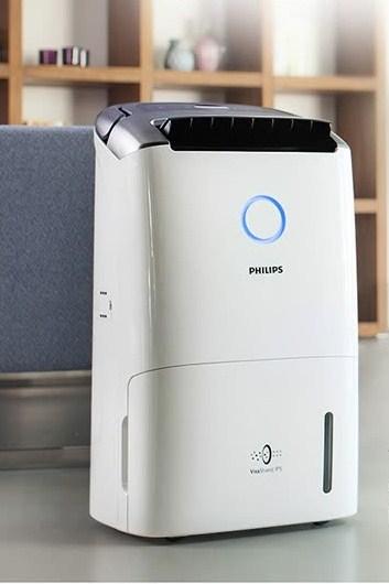 Philips (PHILIPS) Purifier Dehumidifier Household Dehumidifier Dryer Dehumidifier Back to South Tianmei Rainy Season 99% Removal of Aspergillus spores DE5206/00