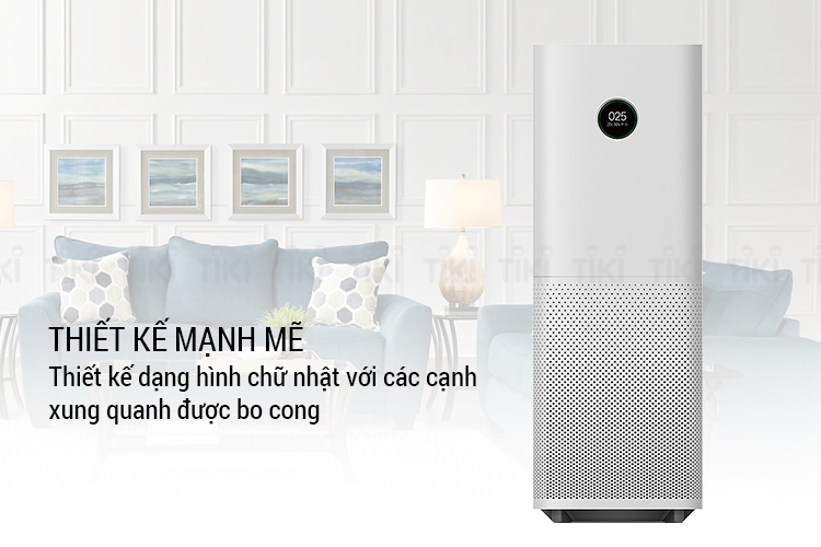Máy lọc không khí Xiaomi Mi Air Purifier Pro/EU FJY4013GL - Trắng - Hàng Chính Hãng