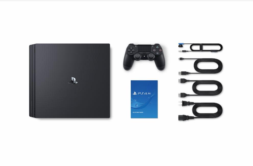 Bộ máy PS4 Pro 1TB kèm 2 tay bấm + 3 đĩa game Uncharted 4, Ratchet & Clank, The Last Of Us - Playstation chính hãng
